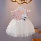 女童洋裝 無袖公主裙0-1-2-3歲女寶寶背心連身裙夏裝蓬蓬裙新款女童網紗裙嬡孕哺 618購物