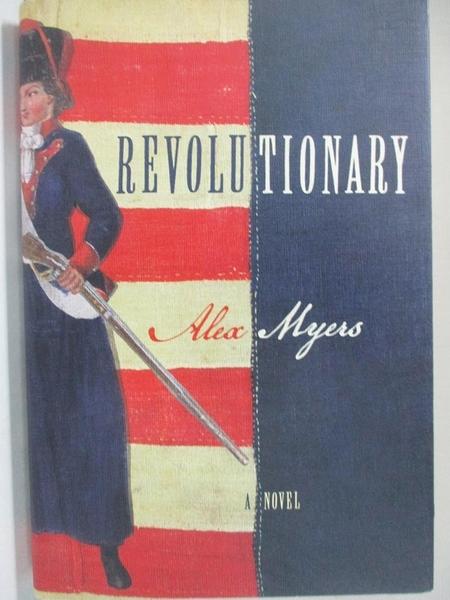 【書寶二手書T3/一般小說_DLK】Revolutionary_Myers, Alex