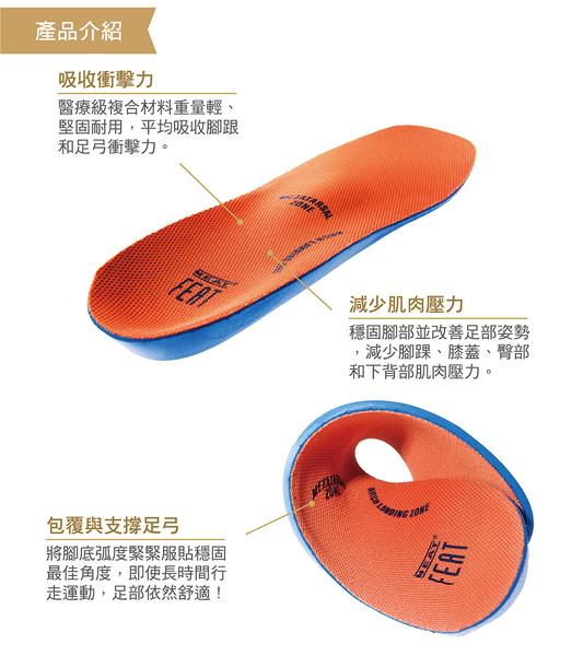 【Neat Feat 樂活適】 全掌運動型緩衝鞋墊 紐西蘭 原裝公司貨 男女適用