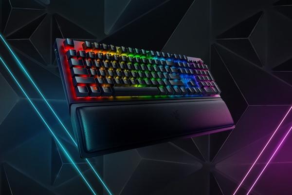雷蛇Razer BlackWidow 黑寡婦V3 Pro【黃軸/綠軸】 機械式RGB鍵盤