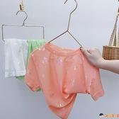 女童短袖T恤夏裝兒童純棉半袖小寶寶韓版夏季上衣【淘嘟嘟】