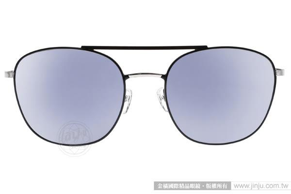 PAUL HUEMAN 太陽眼鏡 PHS882D 05-1 (黑-藍水銀) 經典飛官水銀鏡面款 # 金橘眼鏡