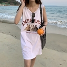 小兔背心裙洋裝長版上衣T恤韓版【29-16-8T88644-21】ibella 艾貝拉