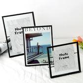 鐵藝相框畫北歐金屬玻璃創意照片裝飾桌面擺台六寸寶寶兒童相片【全館免運八五折】