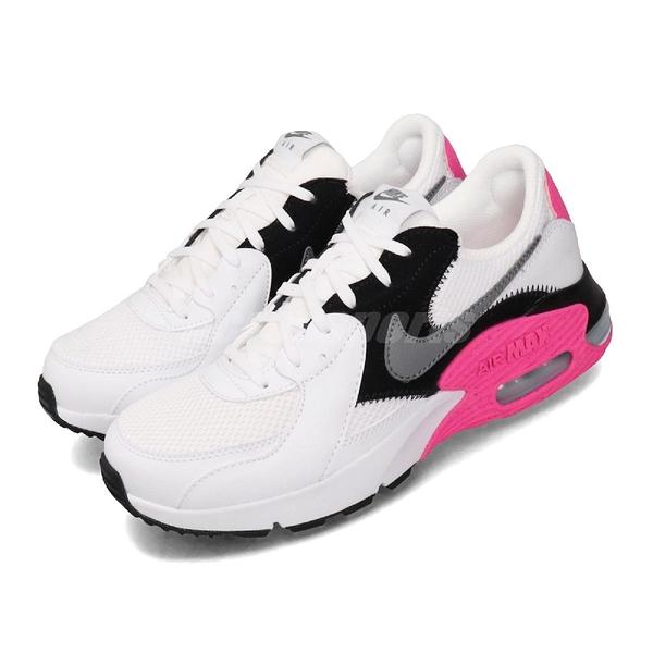 Nike 休閒鞋 Wmns Air Max Excee 白 黑 粉紅 女鞋 運動鞋 【PUMP306】 CD5432-100
