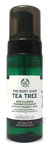 The Body Shop 茶樹淨膚潔面慕絲 5oz ( 150ml )美國進口 【彤彤小舖】