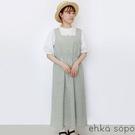 「Summer」花卉圖案收腰平口背心洋裝 (提醒 SM2僅單一尺寸) - Sm2