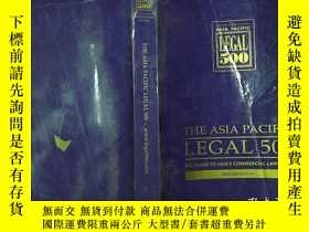 二手書博民逛書店THE罕見ASIA PACIFIC LEGAL500-www.lega1500.comY206421