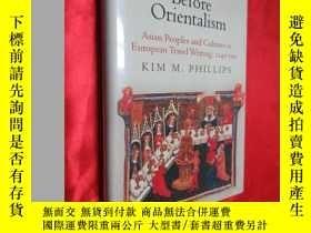 二手書博民逛書店Before罕見Orientalism: Asian Peopl
