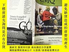 二手書博民逛書店英文原版罕見Evangelical missions quarterly 2008年4月 大32開Y11403