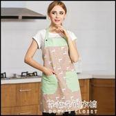 韓版創意廚房可愛防污防油做飯純棉圍裙  朵拉朵衣櫥