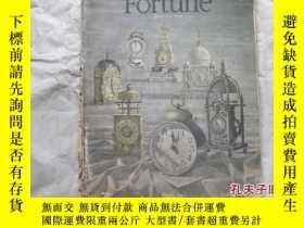 二手書博民逛書店罕見FORTUNE---januaryY18210 出版1948