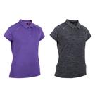 FIRESTAR女彈性短袖POLO衫(短袖上衣 慢跑 路跑≡體院≡ DL966