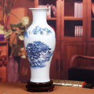 薄胎瓷粉彩花瓶...