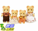 [COSCO代購] W128763 森林家族黃熊家庭組