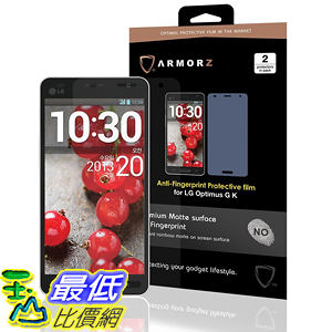 ARMORZ Screen Protector for LG Optimus G K (Two Pack) (Anti-Glare) 美國隱形神盾級 螢幕保護貼 $787