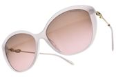 Tiffany&CO.太陽眼鏡 TF4144BF 8243-9T (淡紫-漸層紫鏡片) 貴氣名媛款 墨鏡 # 金橘眼鏡