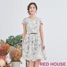 【RED HOUSE 蕾赫斯】描花洋裝(共2色)