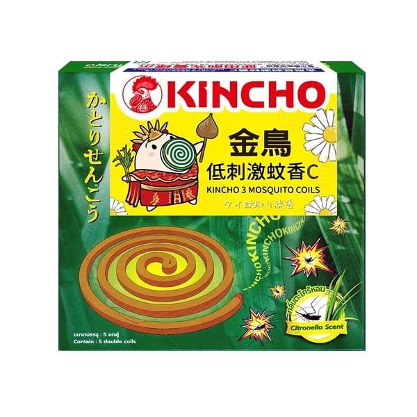KINCHO 金鳥低刺激蚊香C (10巻)