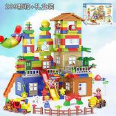 百貨週年慶-樂高積木兼容樂高積木大顆粒場景益智拼裝3城市男女孩子6兒童玩具1-2周歲7wy