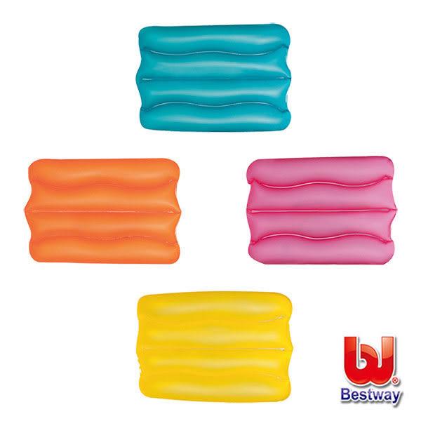 《Bestway》充氣波浪枕(顏色隨機出貨)(69-00613)