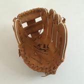 鍊習用棒球手套分指小手套小朋友棒球入門手套左手9英寸【新店開張8折促銷】