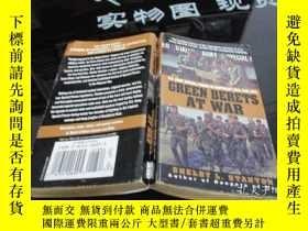 二手書博民逛書店GREEN罕見BERETS AT WAR SHELBY L.STANTON 品如圖 40-7號櫃Y155496