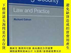 二手書博民逛書店Taking罕見Security:Law and Practice 英文原版 精裝16開 書重Y85718 R