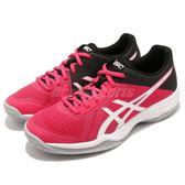 Asics 排羽球鞋 Gel-Tactic 粉紅 黑 舒適緩震 進階款 女鞋 運動鞋 【PUMP306】 B752N700