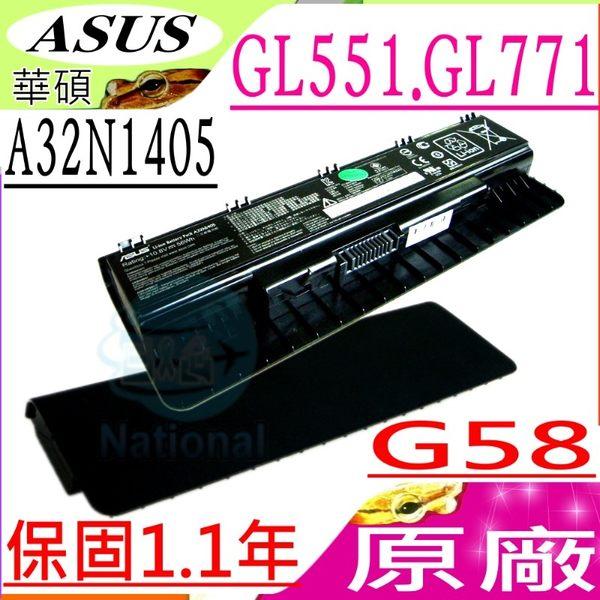 ASUS 電池(原廠)-華碩電池 A32N1405,G58JM ,G58JW,G58J,GL551,GL551JK,GL551JM,GL551JW ,GL551J,A32LI9H