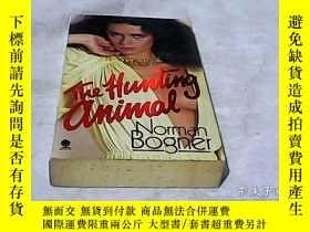 二手書博民逛書店狩獵動物罕見THE HUNTING ANIMALY249342