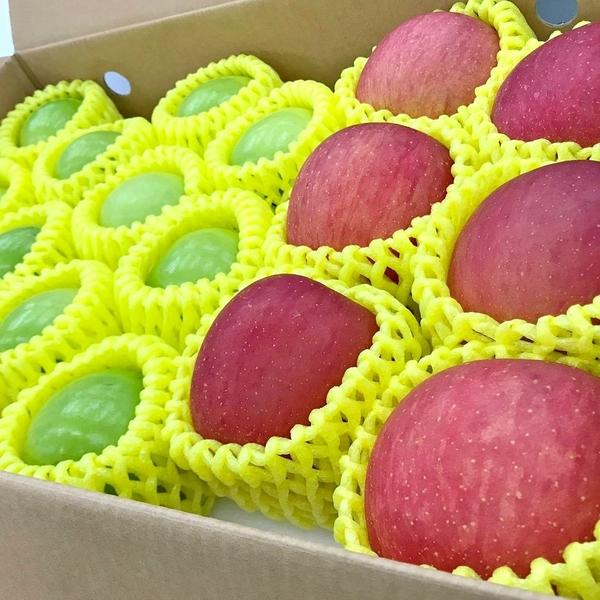 【果之蔬-全省免運】台灣牛奶蜜棗X12顆+日本蜜蘋果X6顆禮盒