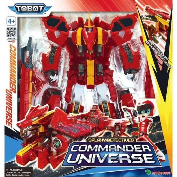 《 TOBOT 》 機器戰士 TOBOT GD COMMANDER UNIVERSE  /  JOYBUS玩具百貨