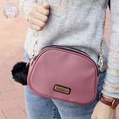 Catsbag|乾燥玫瑰防潑水雙層瀨兔毛球鏈帶包|斜背包G1875
