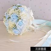 新款韓版仿真新娘伴娘手捧花婚禮攝影道具【全館免運】