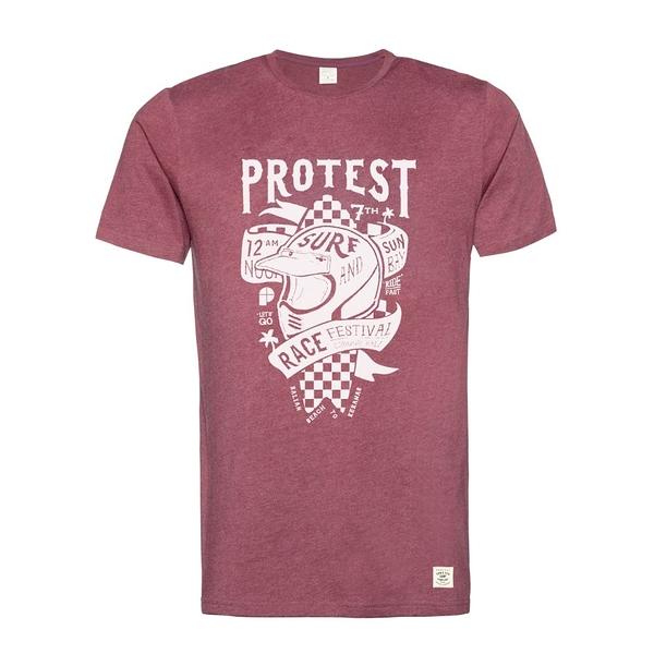 PROTEST 男 短袖T恤 (黑櫻桃) FESTIVAL T-SHIRT