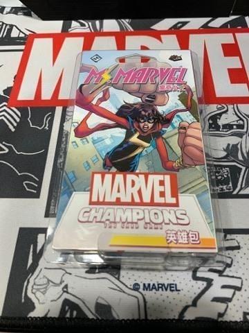 『高雄龐奇桌遊』漫威傳奇再起 英雄包 驚奇女士 Ms. Marvel Hero 繁體中文版 正版桌上遊戲專賣店