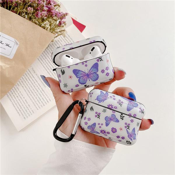 Airpods Pro 專用 1/2代 台灣發貨 [ 蝴蝶姊姊 ] 藍芽耳機保護套 蘋果無線耳機保護