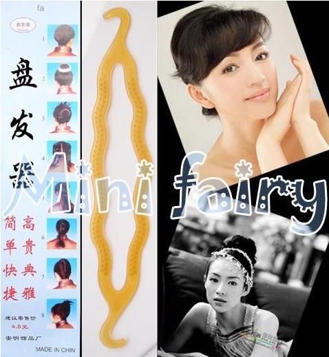 [協貿國際]  多功能花樣盤發器髮飾頭飾 (30個價)