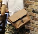 FINDSENSE Z1 韓國 時尚 潮 男 休閒戶外 皮質 多功能 大胸包 單