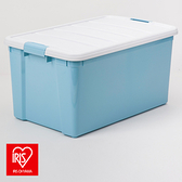 (組)日本 IRIS 彩色分類整理箱天空藍 50L-2入