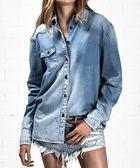 OneTeaspoon 襯衫SHIRT- 藍(女)