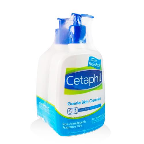 Cetaphil舒特膚 溫和清潔乳591ml 兩入組 (臉&身體適用)【UR8D】
