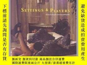 二手書博民逛書店Settings罕見and Players: Theatrical AmbiguiY343753 Vince