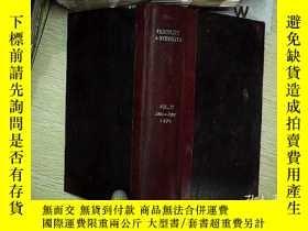二手書博民逛書店FERTILITY罕見AND STERILITY VOL.27 JAN-JVNE 1976 生育和不育-1976年