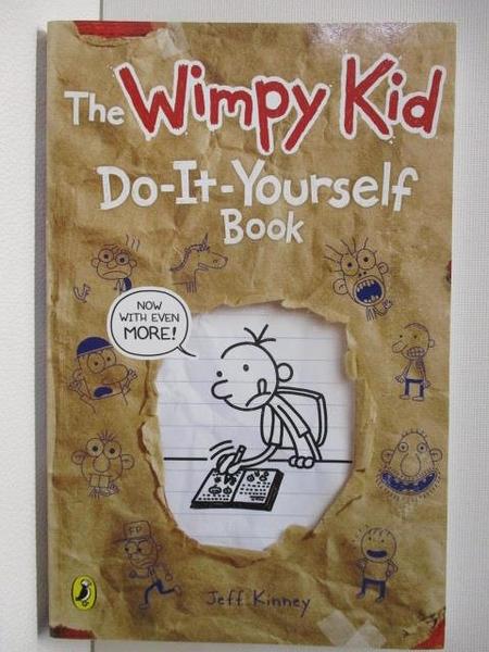 【書寶二手書T1/原文小說_A6F】Diary of a Wimpy Kid-Do It Yourself