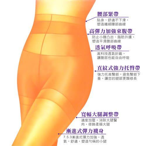 【琨蒂絲】縮腹提臀676 彈性塑型褲襪(3雙入/1包)