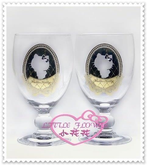 小花花日本精品♥ Hello Kitty 聯名 施華洛世奇 高腳杯/香檳杯 金色側姿緞帶(預購)