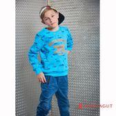 童裝親子裝T恤 夢特嬌 藍色運動休閒風格款 150-170cm