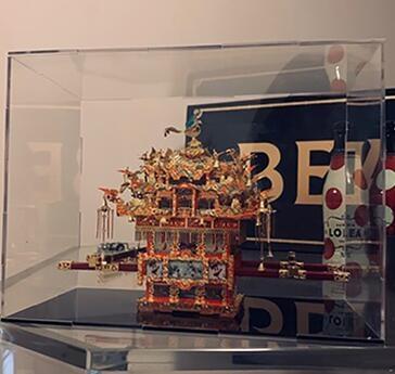 展示盒3D立體模型收納盒透明壓克力防塵罩
